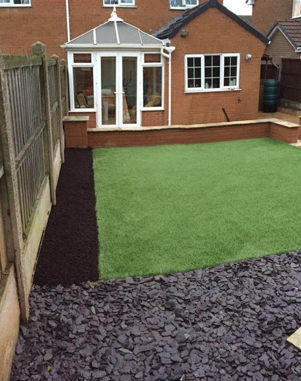Hard Lanscaping Mansfield - C P Rose Building Services Ltd